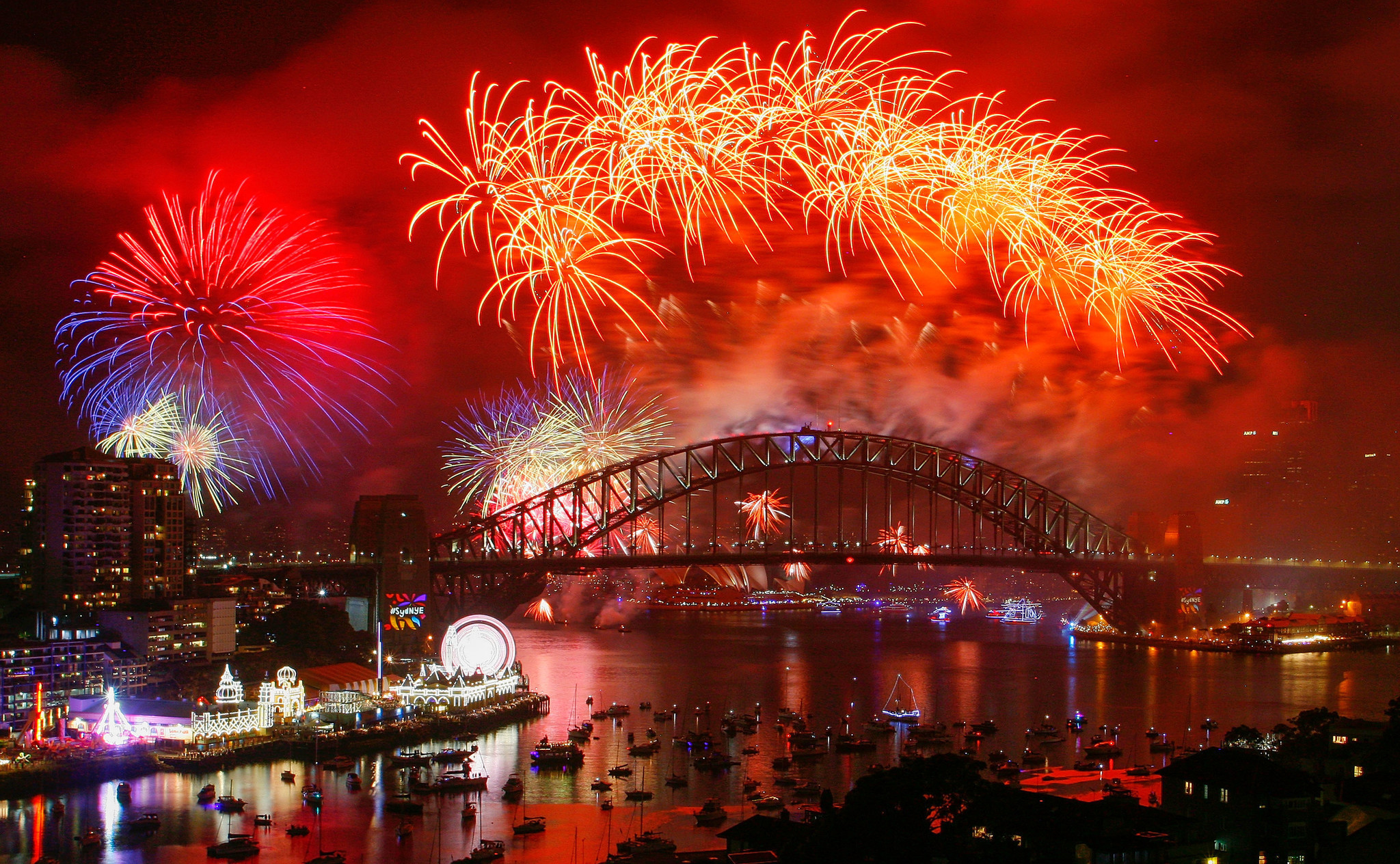 Spectacular New Year's Eve celebrations around the world ...