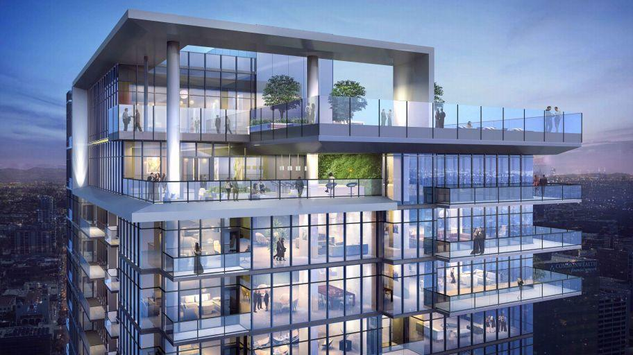 Little italy 36 story apartment complex approved the san - Apartment complexes san diego ...