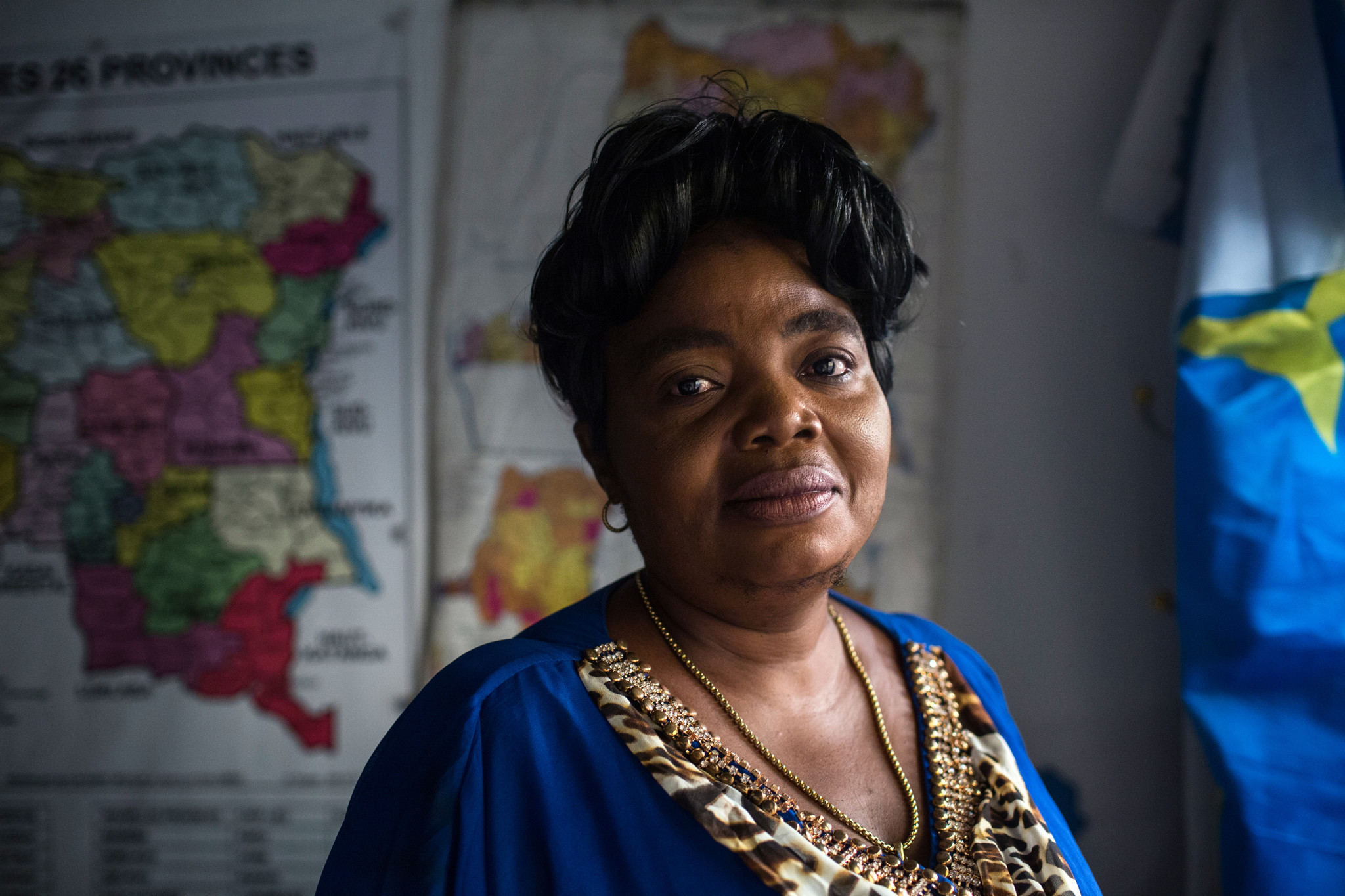 Women political candidates in DRC