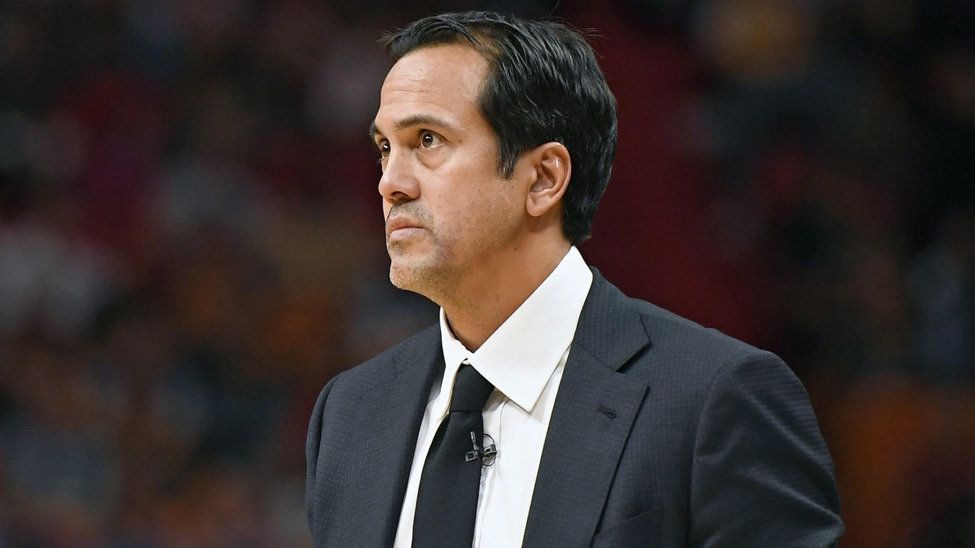 Spoelstra is happy to win in Vice uniforms 758e8cd5a