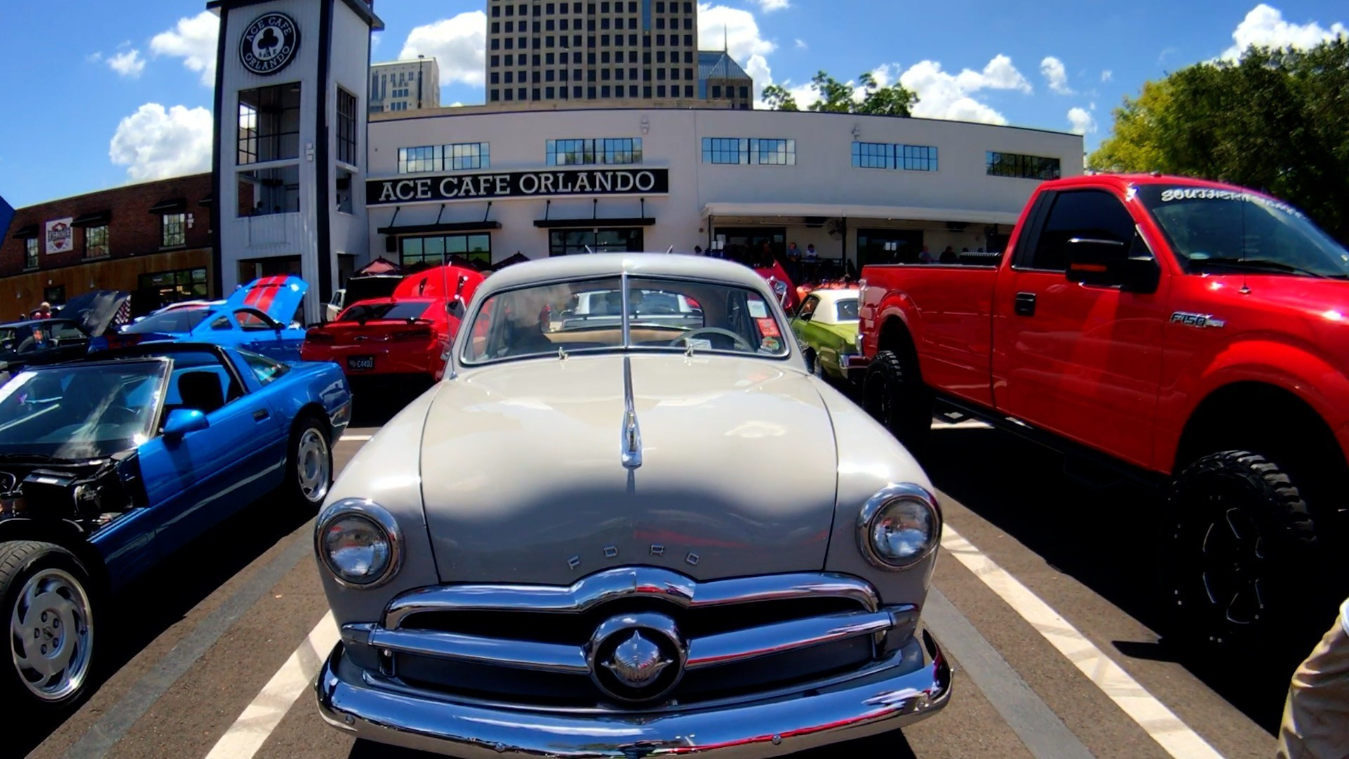 Car Show Orlando >> Enthusiasts Celebrate July 4th At Downtown Orlando Car Show
