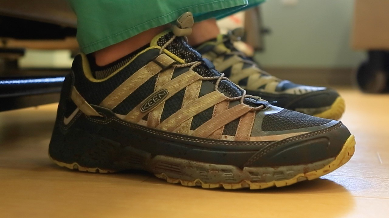833d622c0025 Orlando surgeon shares story behind blood-stained shoes - Orlando Sentinel
