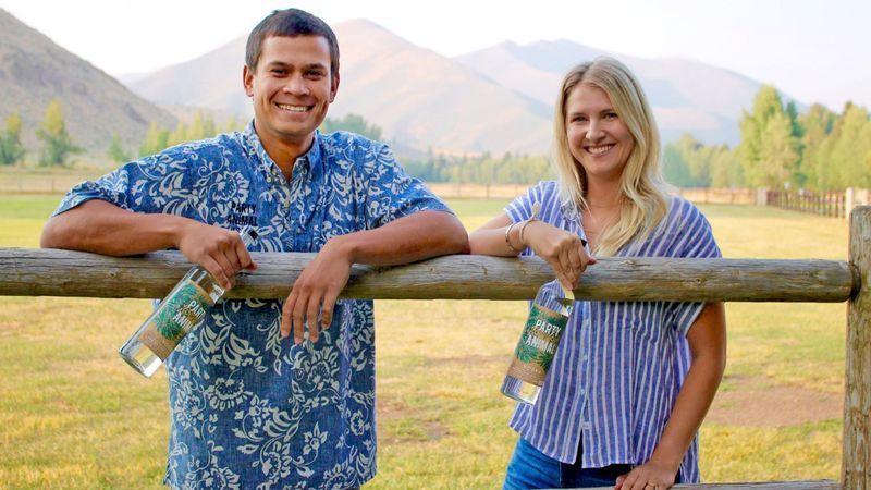 Josh Hanson and Kate Cullen