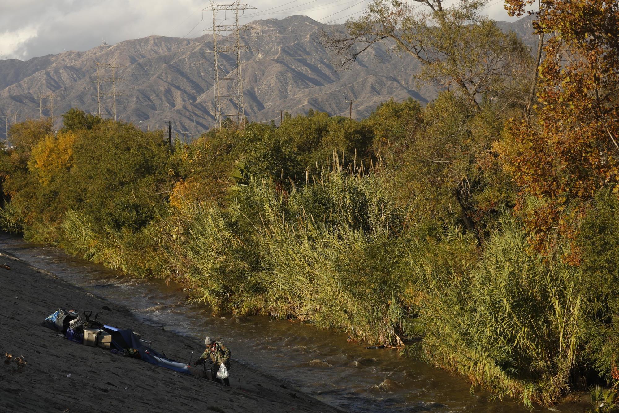 At the L.A. River