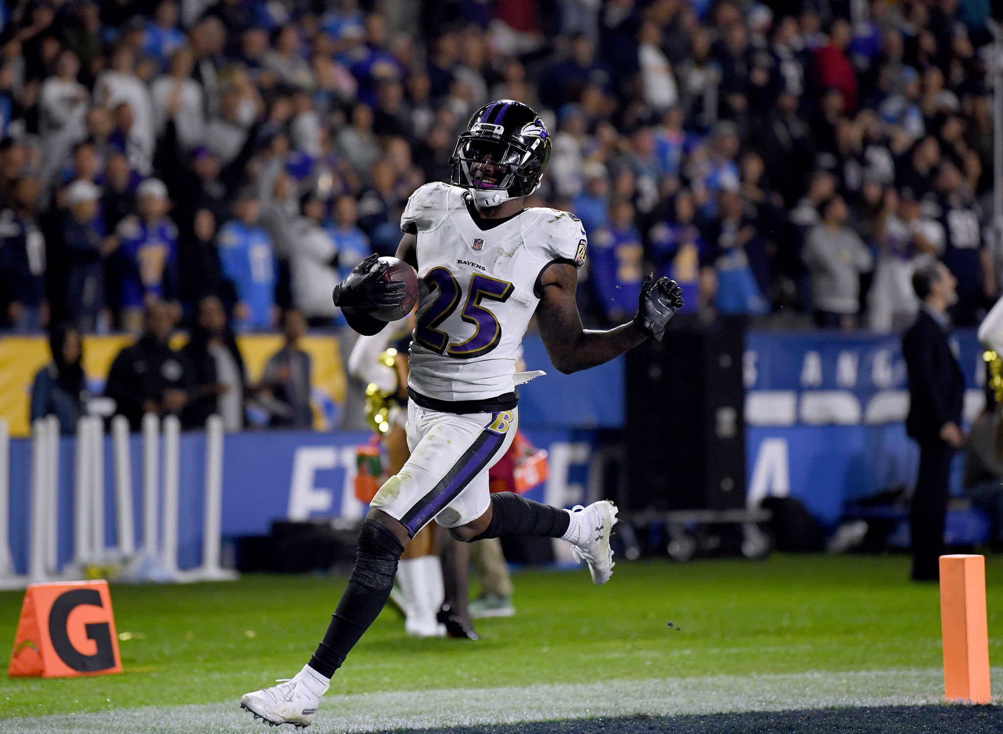 Image result for ravens chargers week 16