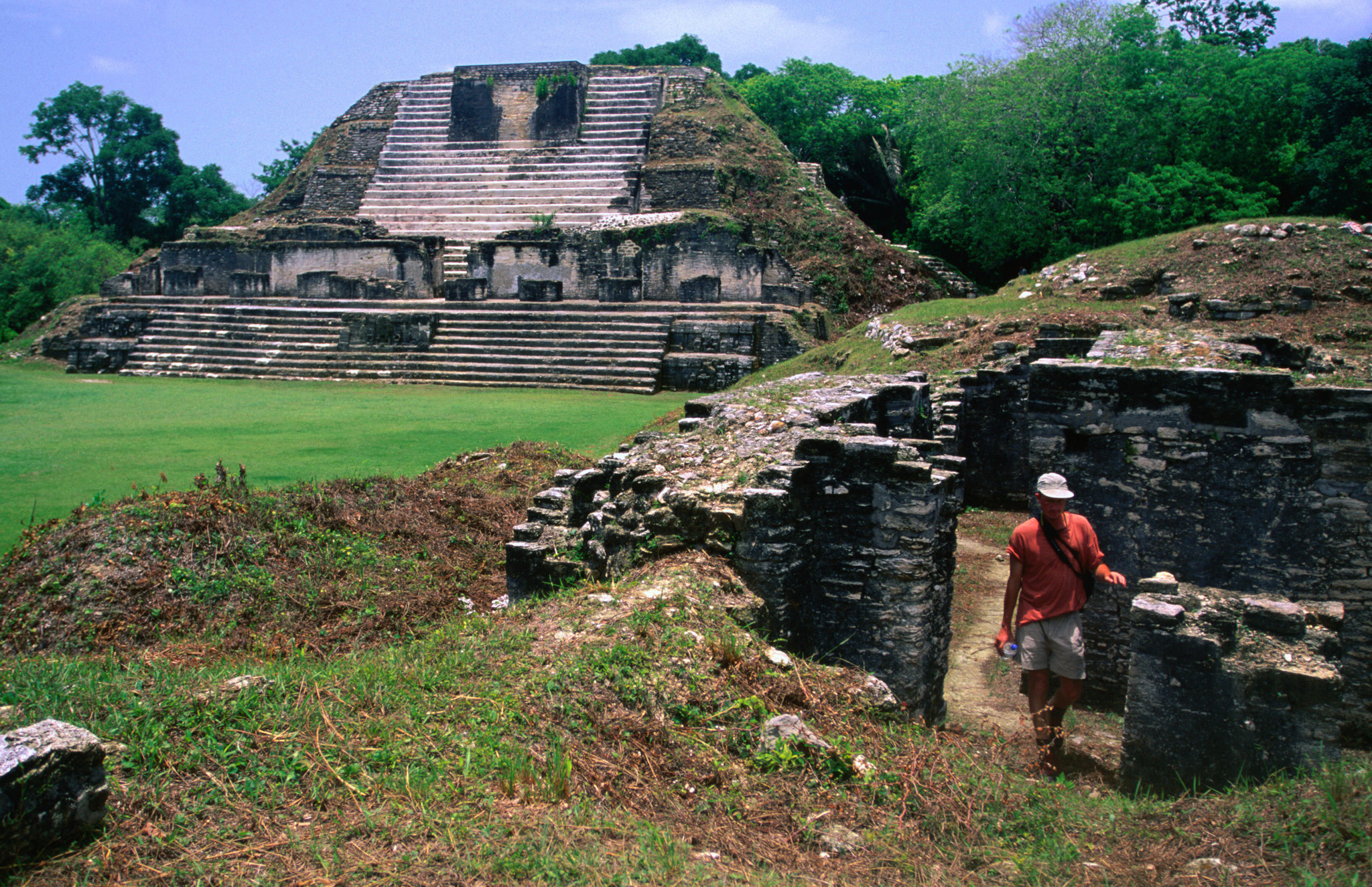 The Mayan ruins of Altan Ha are easily accessible from Caye Caulker. Belize