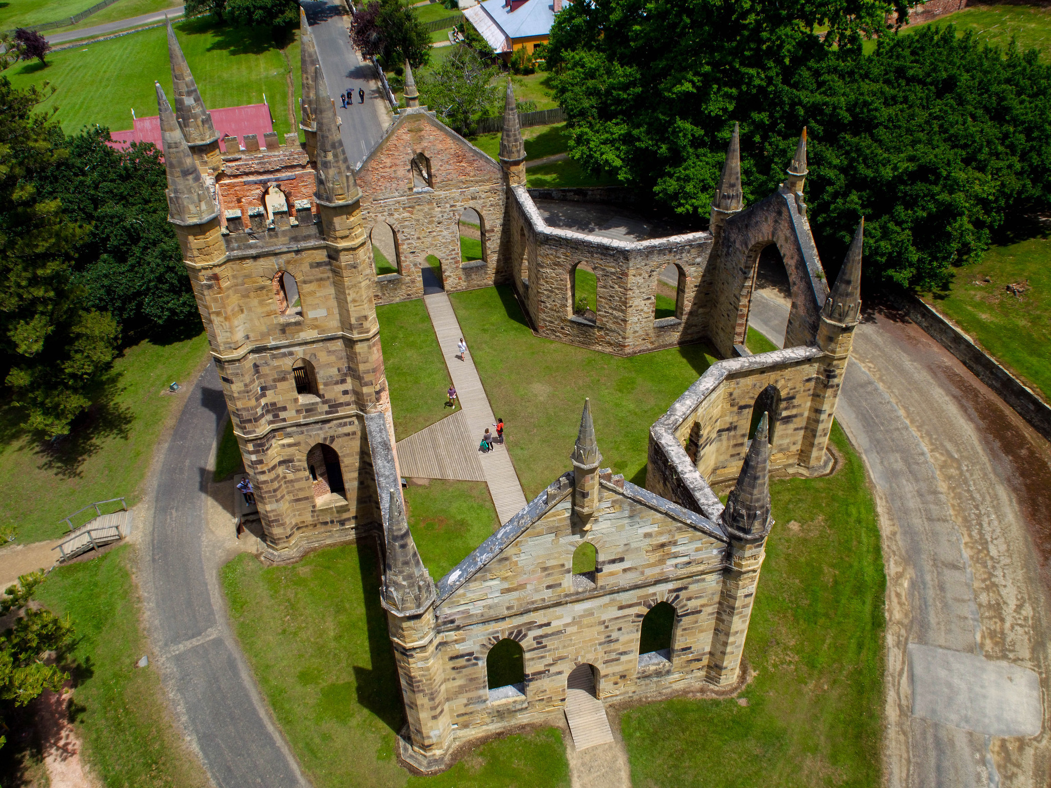 TASMANIA, AUSTRALIA - The Port Arthur Historic Site is one of Australia's most important heritage si