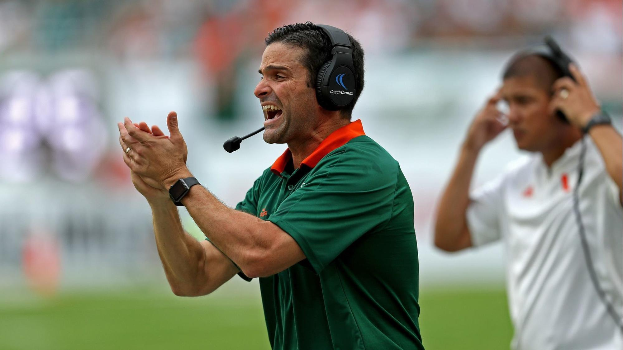 new hurricanes coach manny diaz on taking over after mark richt s