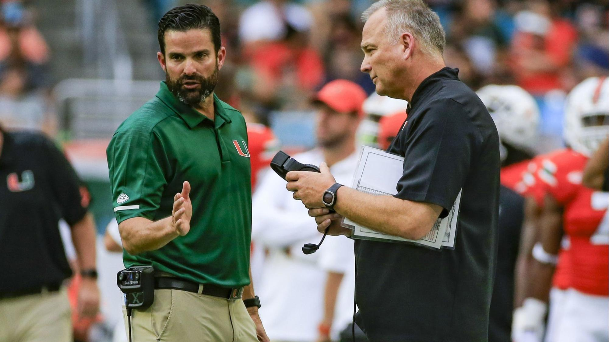 new hurricanes coach manny diaz on whirlwind that resulted in his