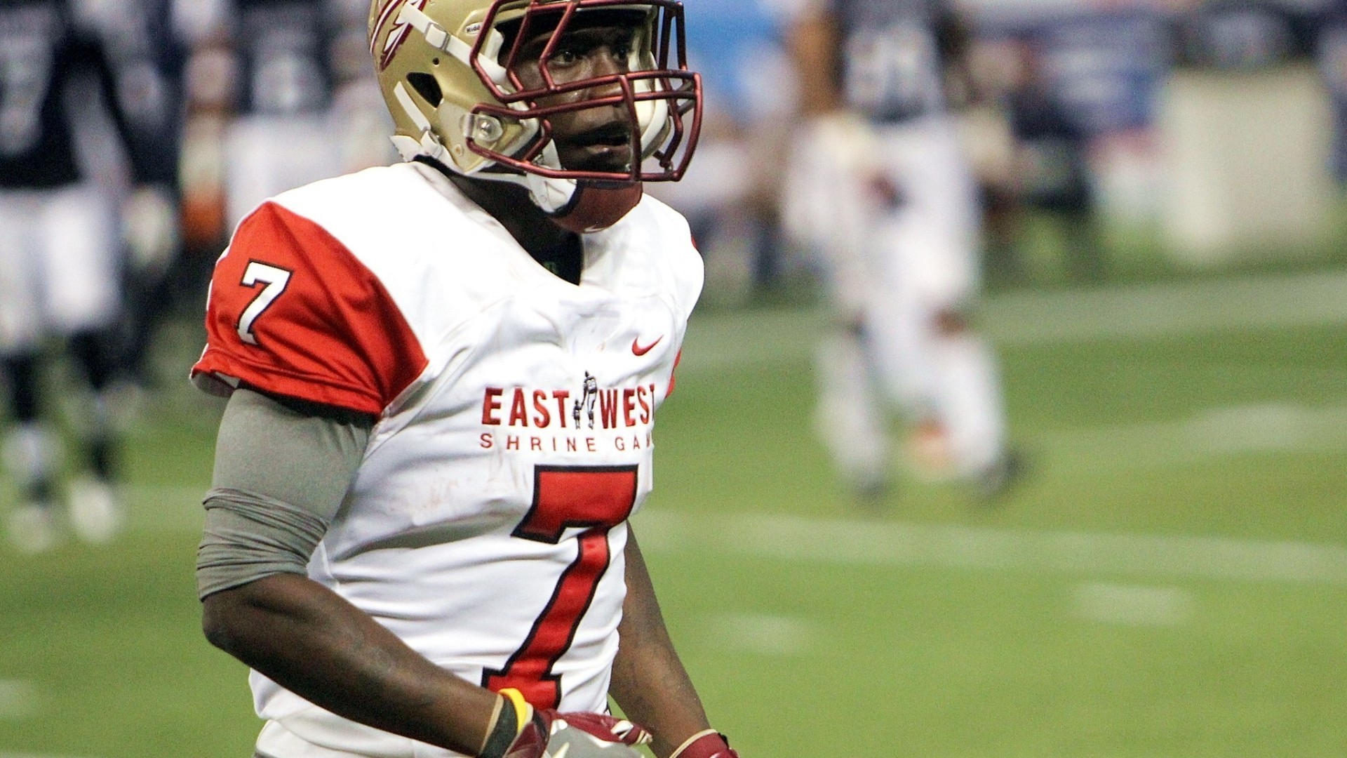 premium selection 77404 634ef Video: Kermit Whitfield at the East-West Shrine Game ...