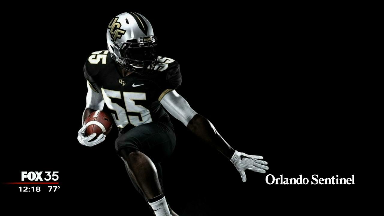 UCF's football team gets new Nike uniforms - Orlando News