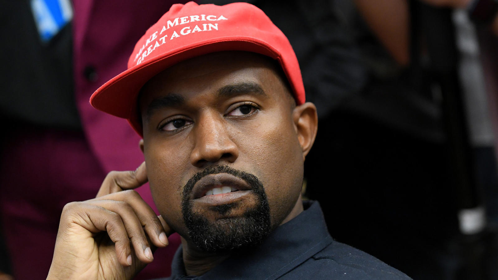 On the first day of 2019, Kanye West's Trump tweets were ... Kanye West
