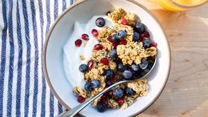 Honey-Chia Granola