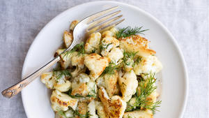 Salt and Vinegar Cauliflower