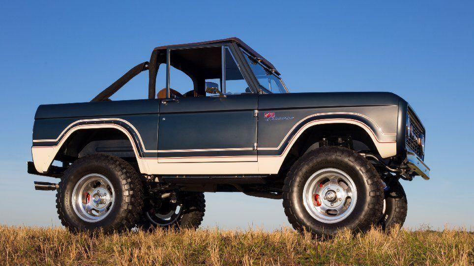 Original 1960s Ford Broncos Made New By Illinois Company