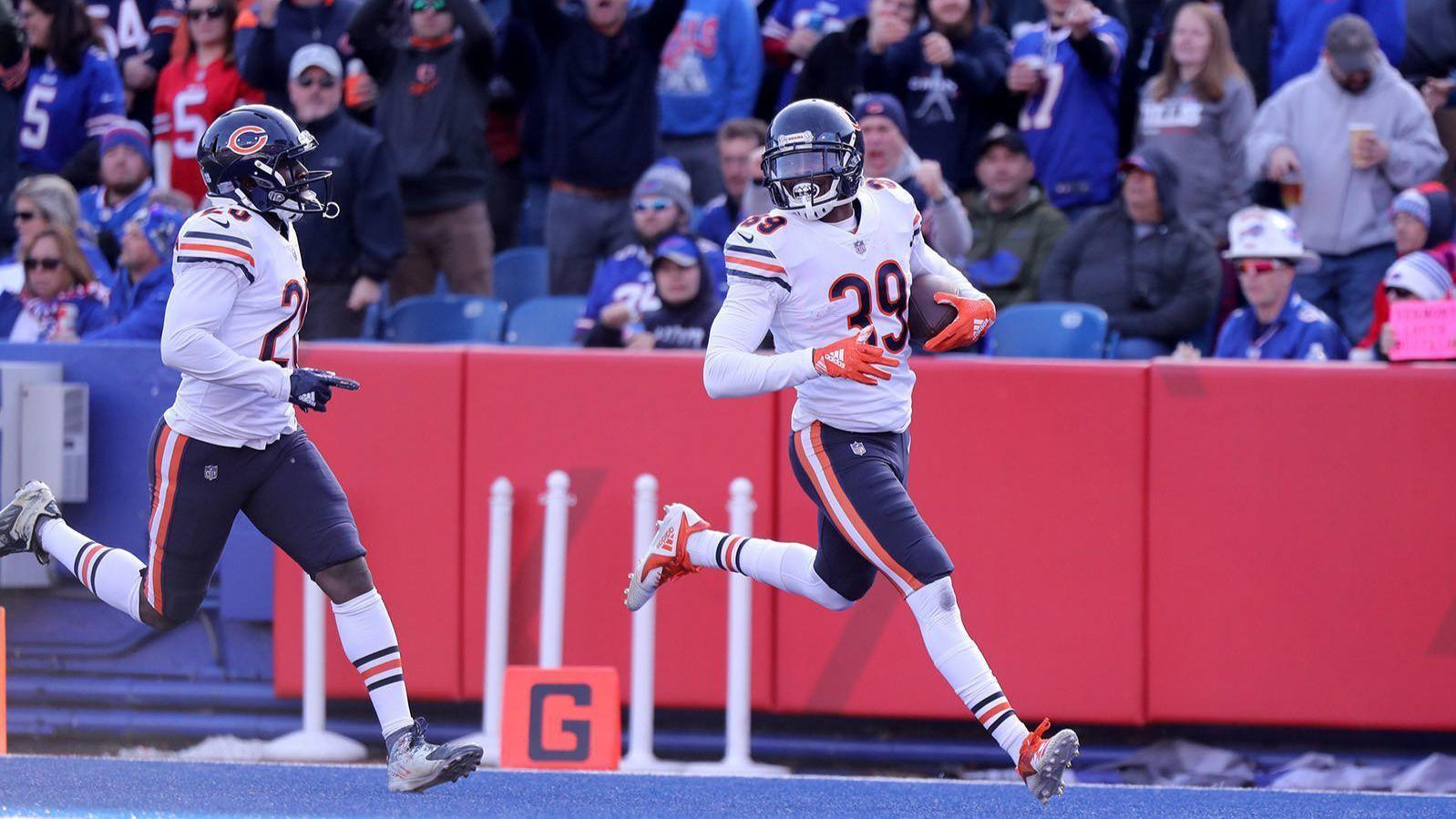 930fff549eb Eddie Jackson will be a game-time decision for Bears' playoff game vs.  Eagles