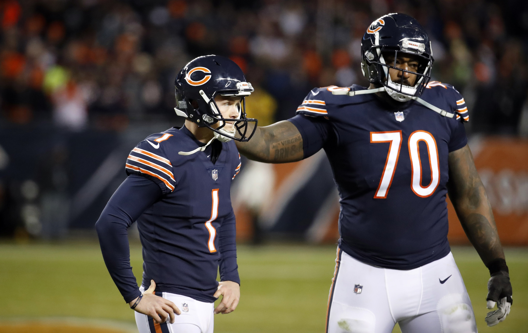 61773a4d From Cody Parkey's 'double doink' to trading for Eddy Pineiro: The ...