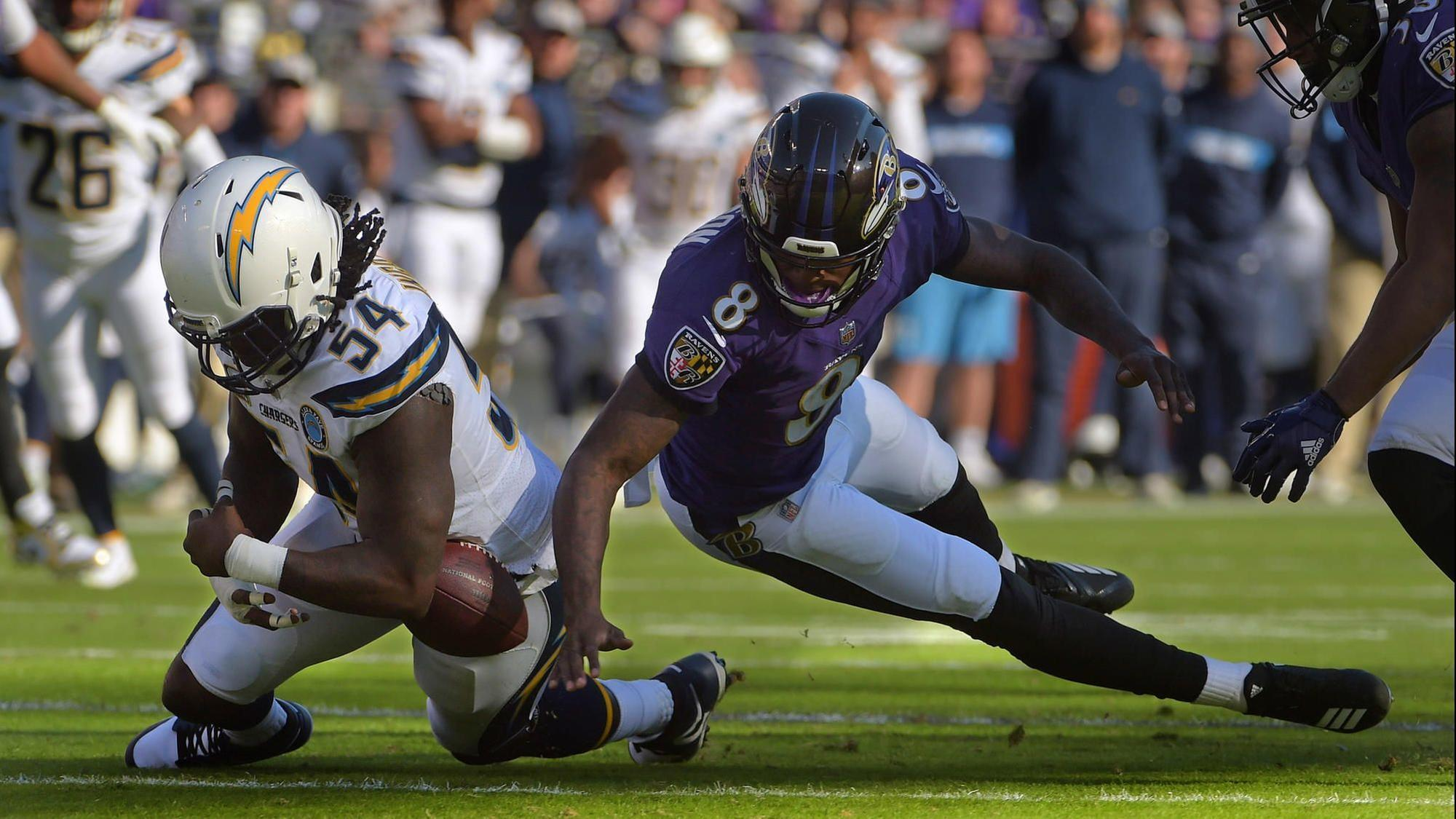0dc90bd12 At the end of a breakthrough rookie season, quarterback Lamar Jackson  leaves Ravens needing more - Baltimore Sun