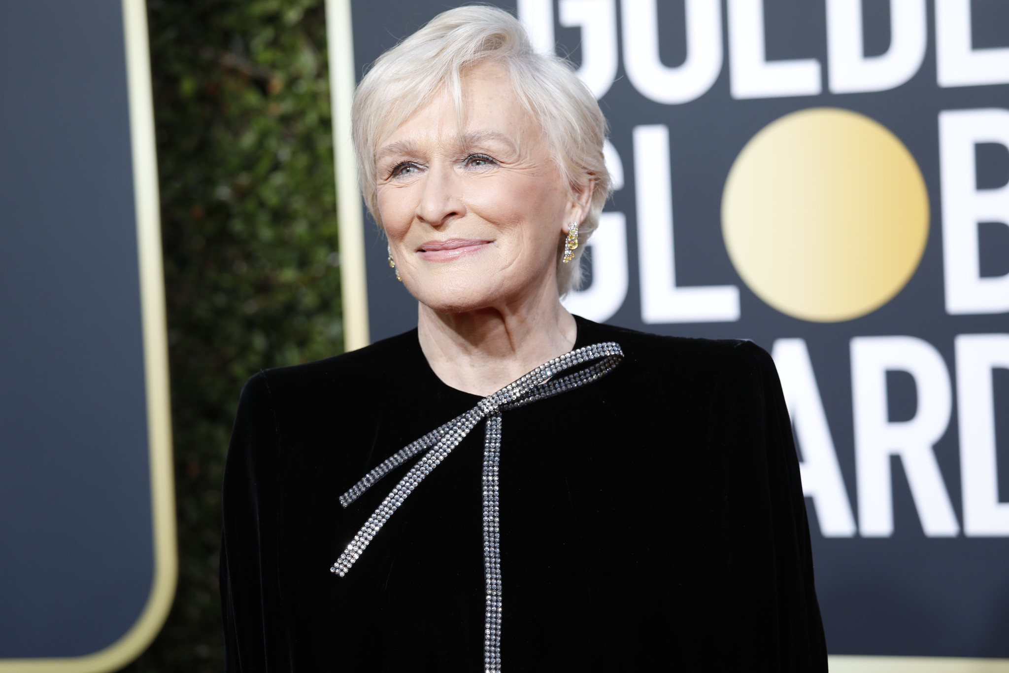BEVERLY HILLS, CA-JANUARY 06: Glenn Close arriving at the 76th Golden Globes at the Beverly Hilton