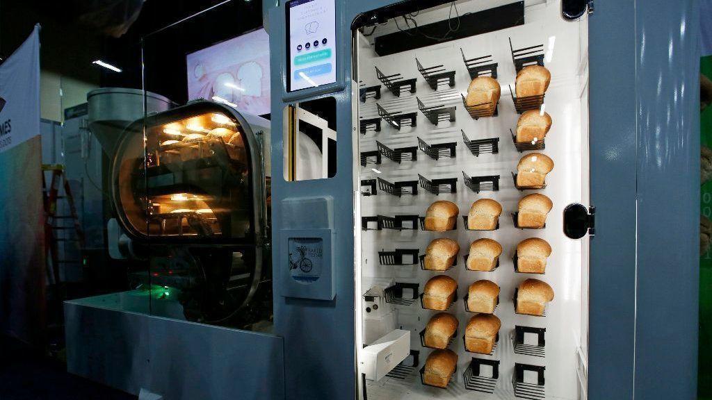 Meet BreadBot, an automatic bread-baking vending machine - Chicago Tribune