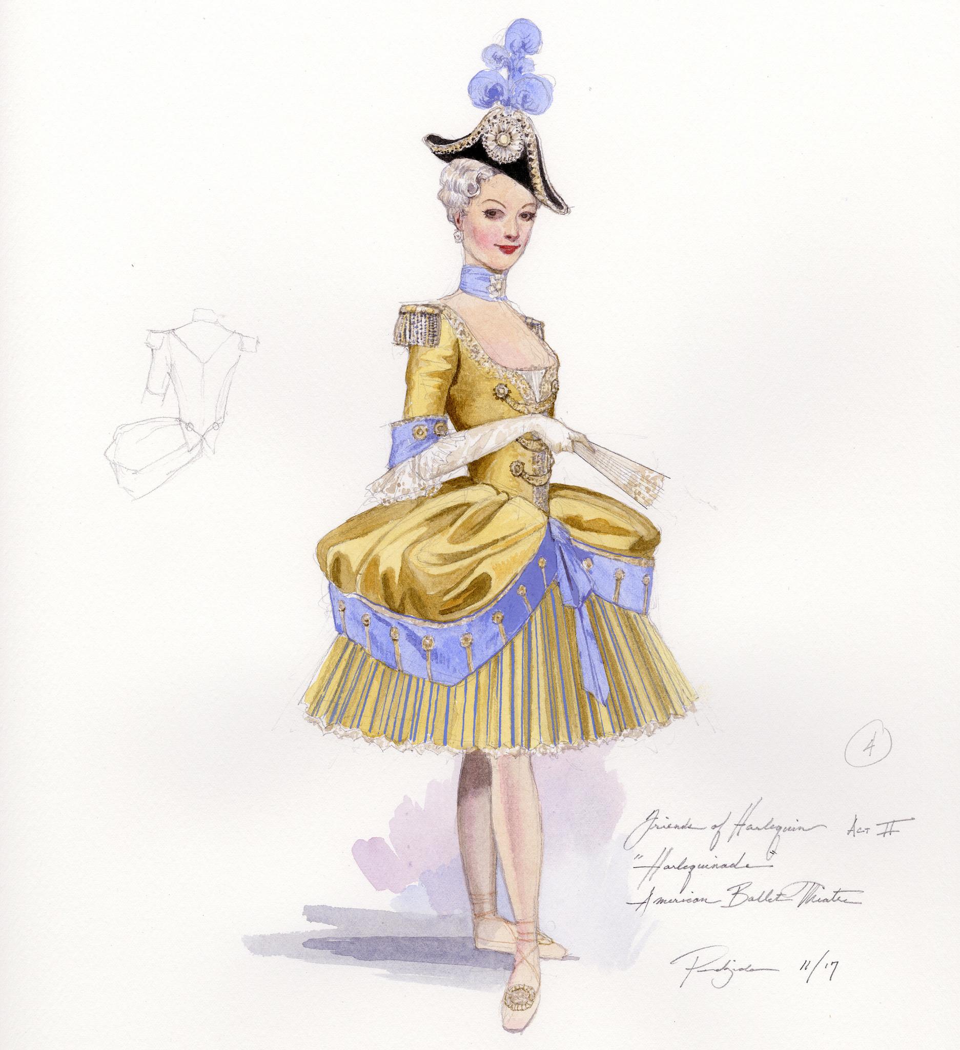 """Harlequinade"" costumes"