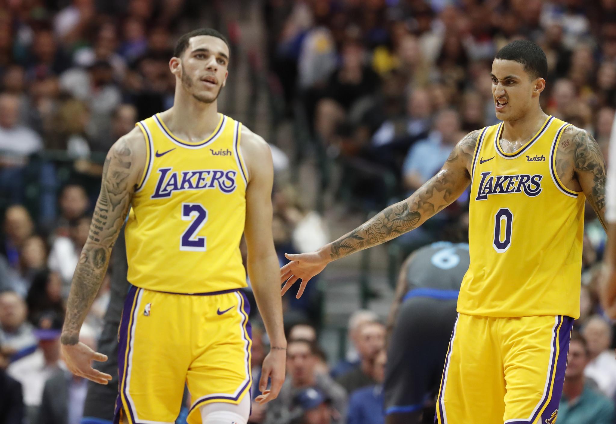 b24635085d5 ... 2019 Kyle Kuzma tiene en mente una alineación especial para los Lakers  LA Times - 18 23 PM ET January 10