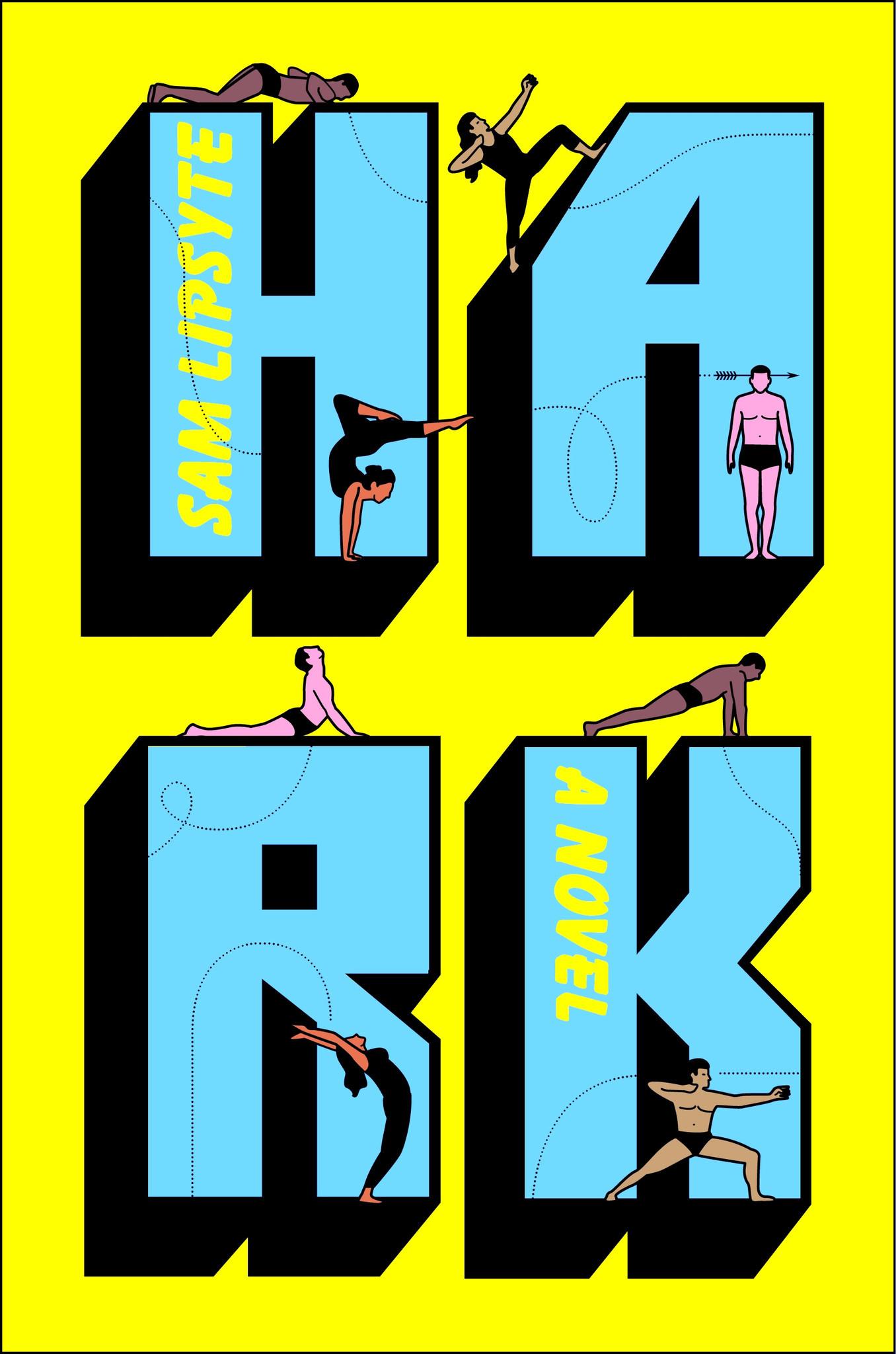 "A book jacket for Sam Lipsyte's ""Hark."" Credit: Simon and Schuster Digital Sales Inc"