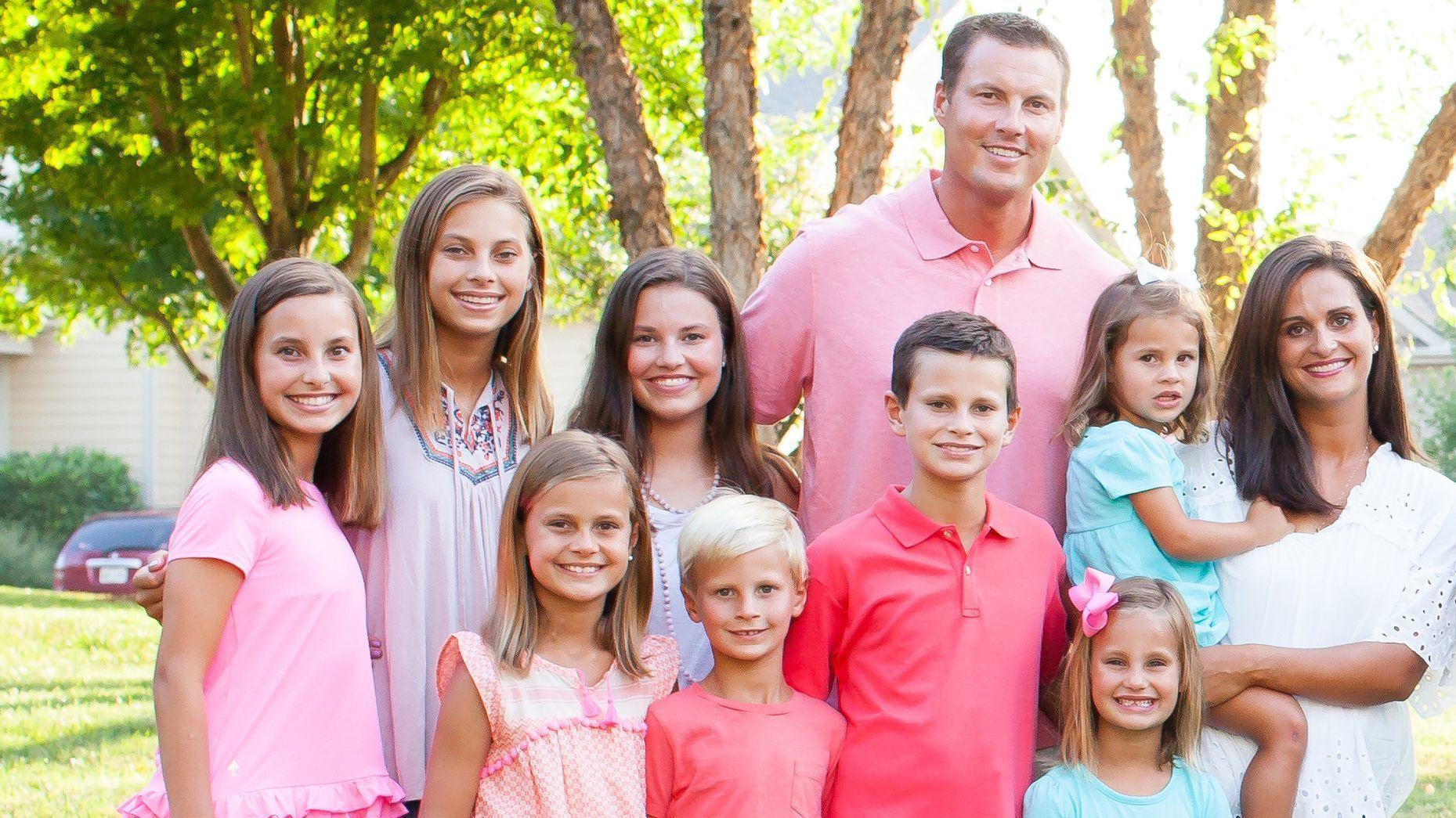 Philip Rivers Family