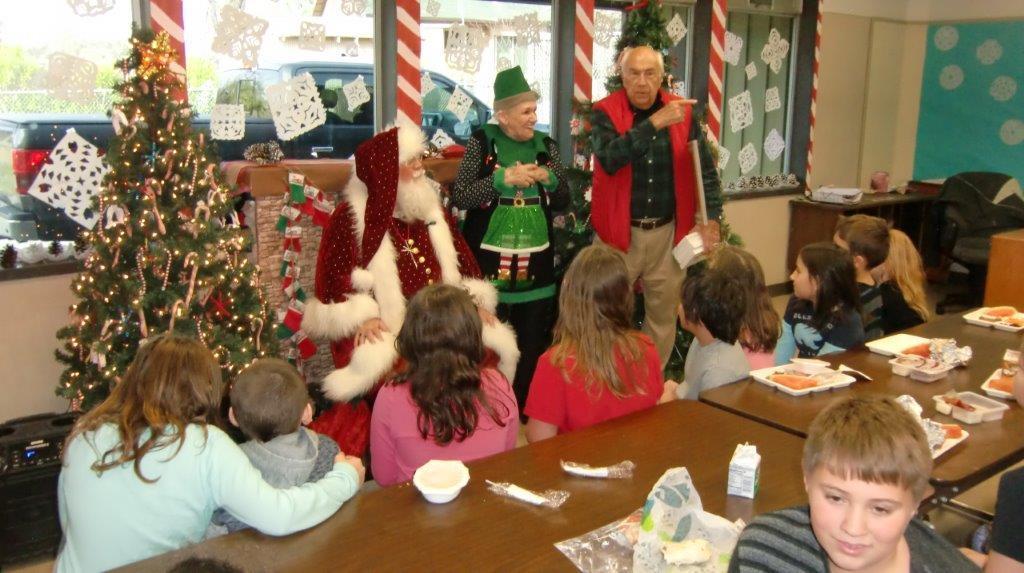 Santa children