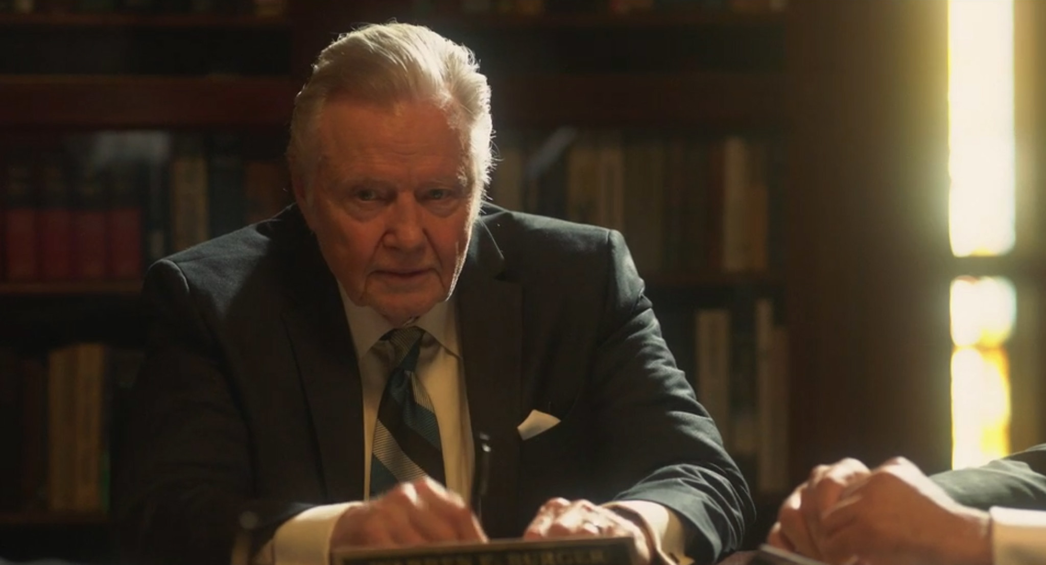 SEE IT: First trailer for controversial 'Roe v. Wade' features Jon Voight and an explosion