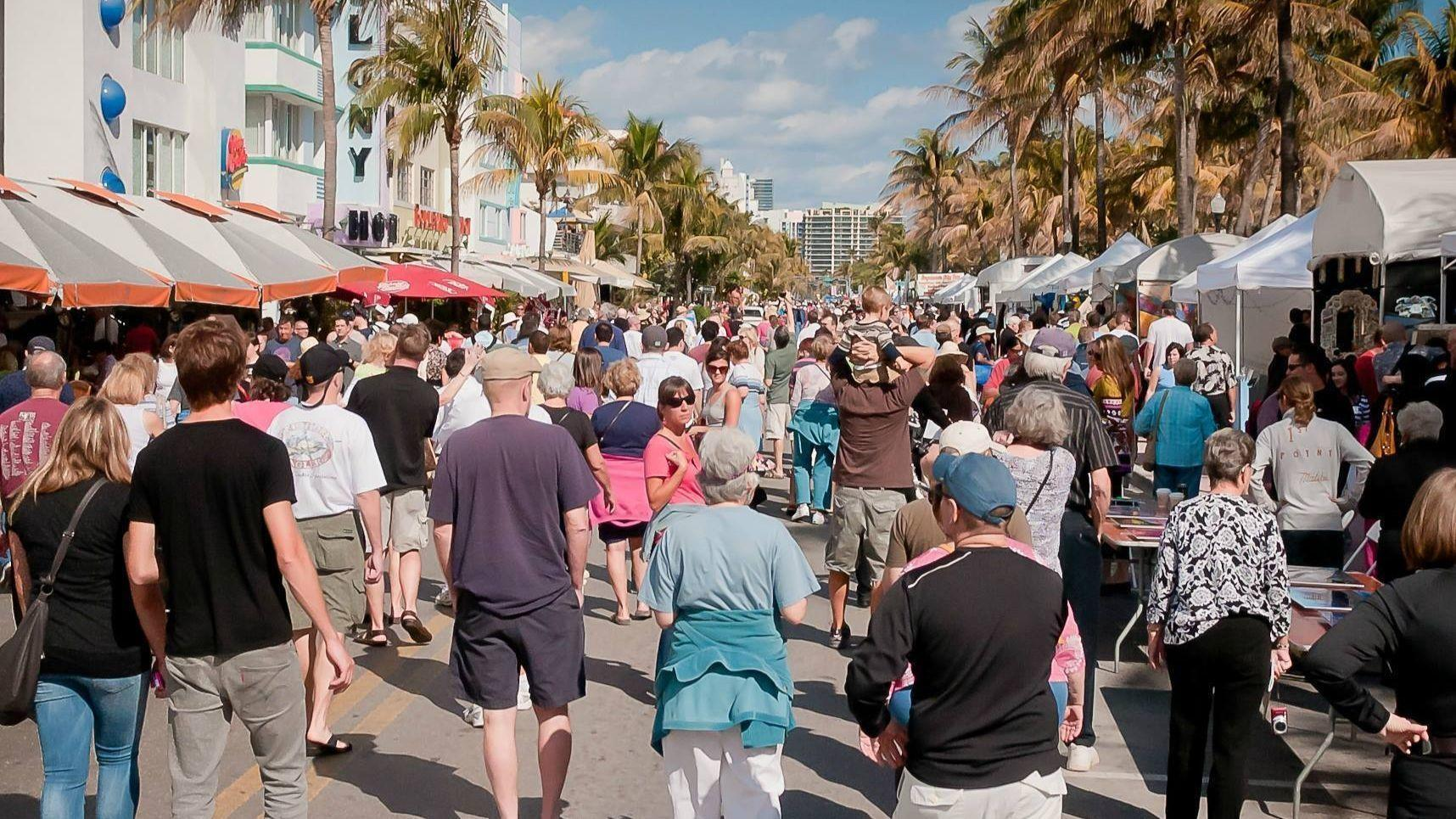 Three festivals to catch this weekend: Art Deco Weekend, Delray Beach Festival of the Arts, Sistrunk-a-Fair