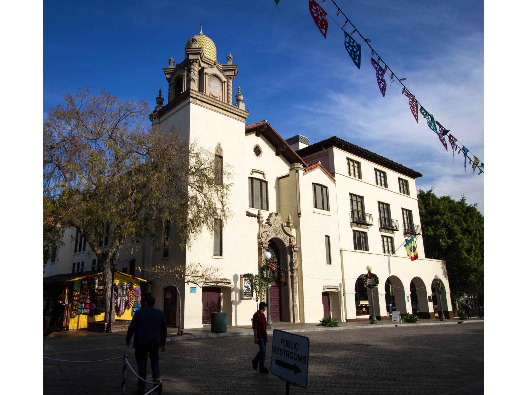 Dec. 9, 2015: The Plaza Methodist Church at Olvera Street in Los Angeles.