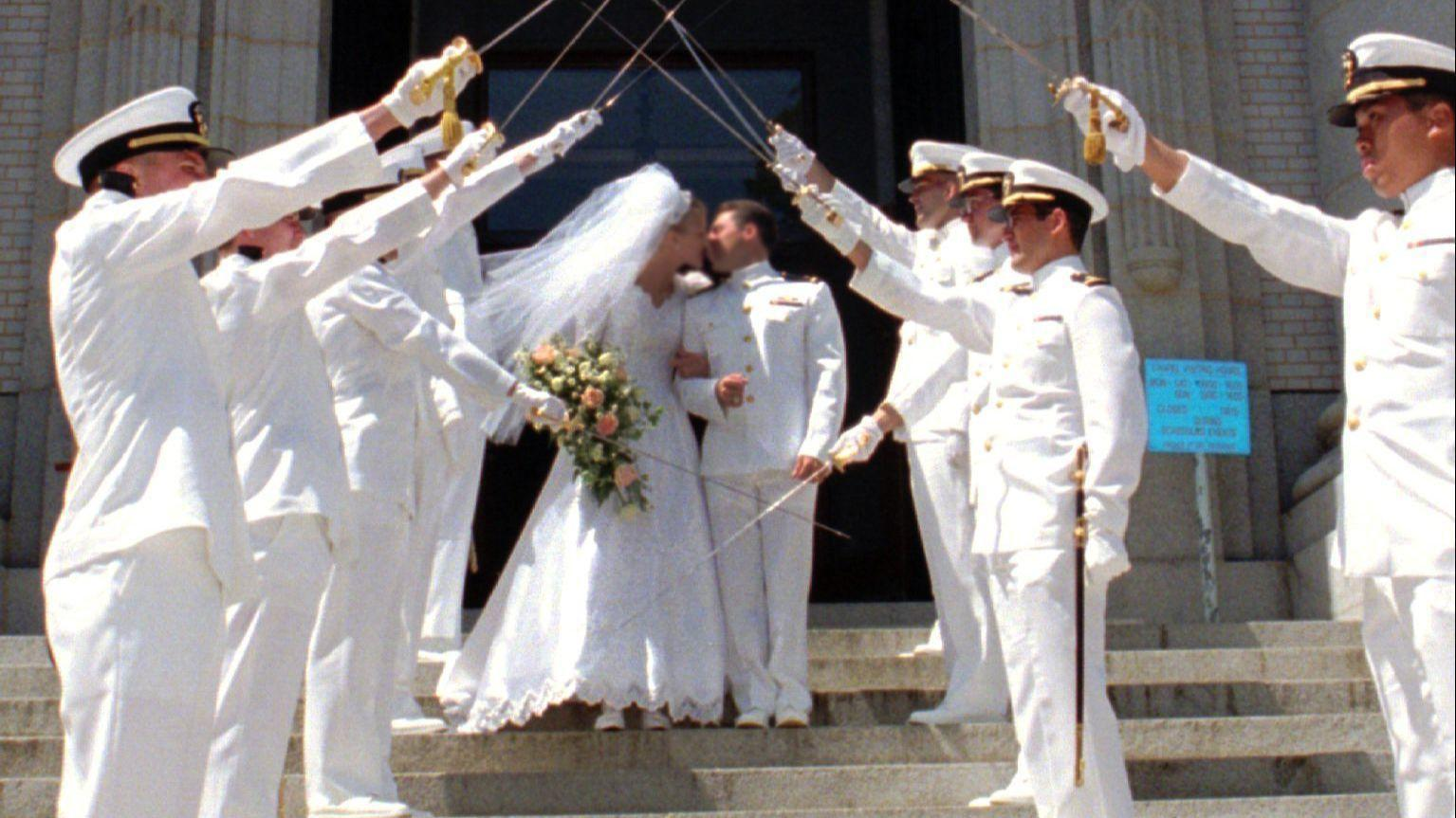 2a663f5663e Naval Academy takes a bite out of vendors  commissions for chapel weddings.  Cost of doing business. Capital Gazette file