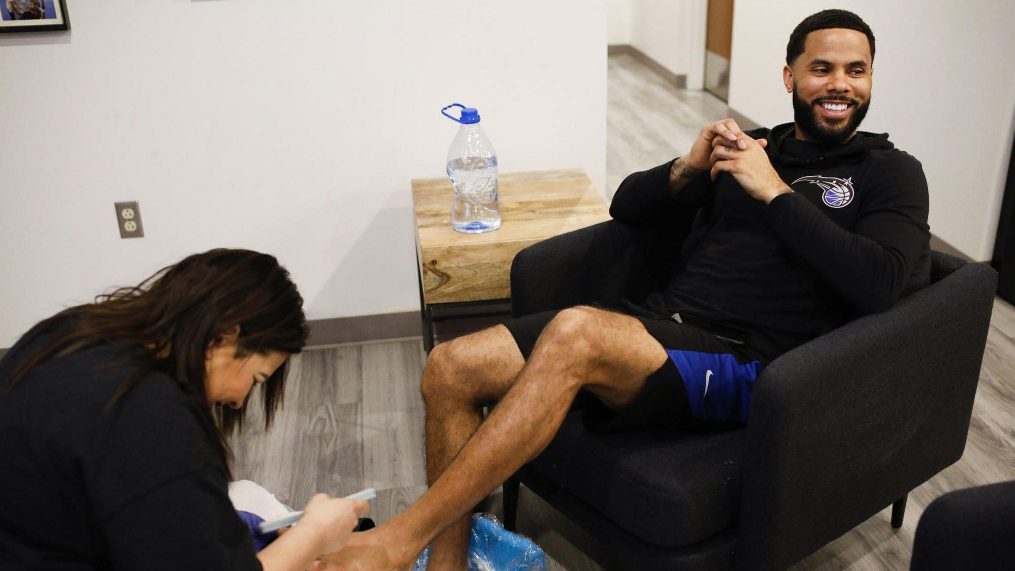 more photos 8d3aa c3200 If it s good enough for Michael Jordan and Shaq ...   Why NBA players love  pedicures