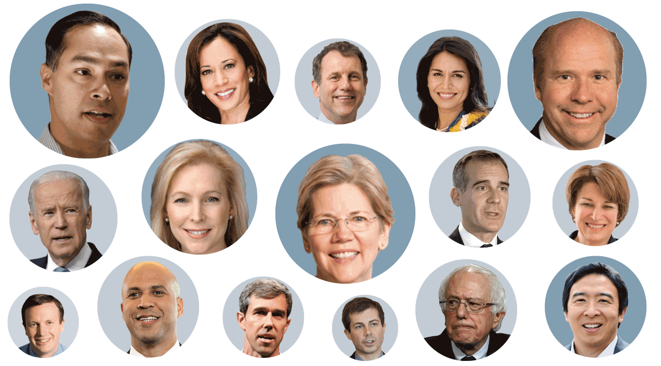 2020 Democratic presidential candidates: Who's running for