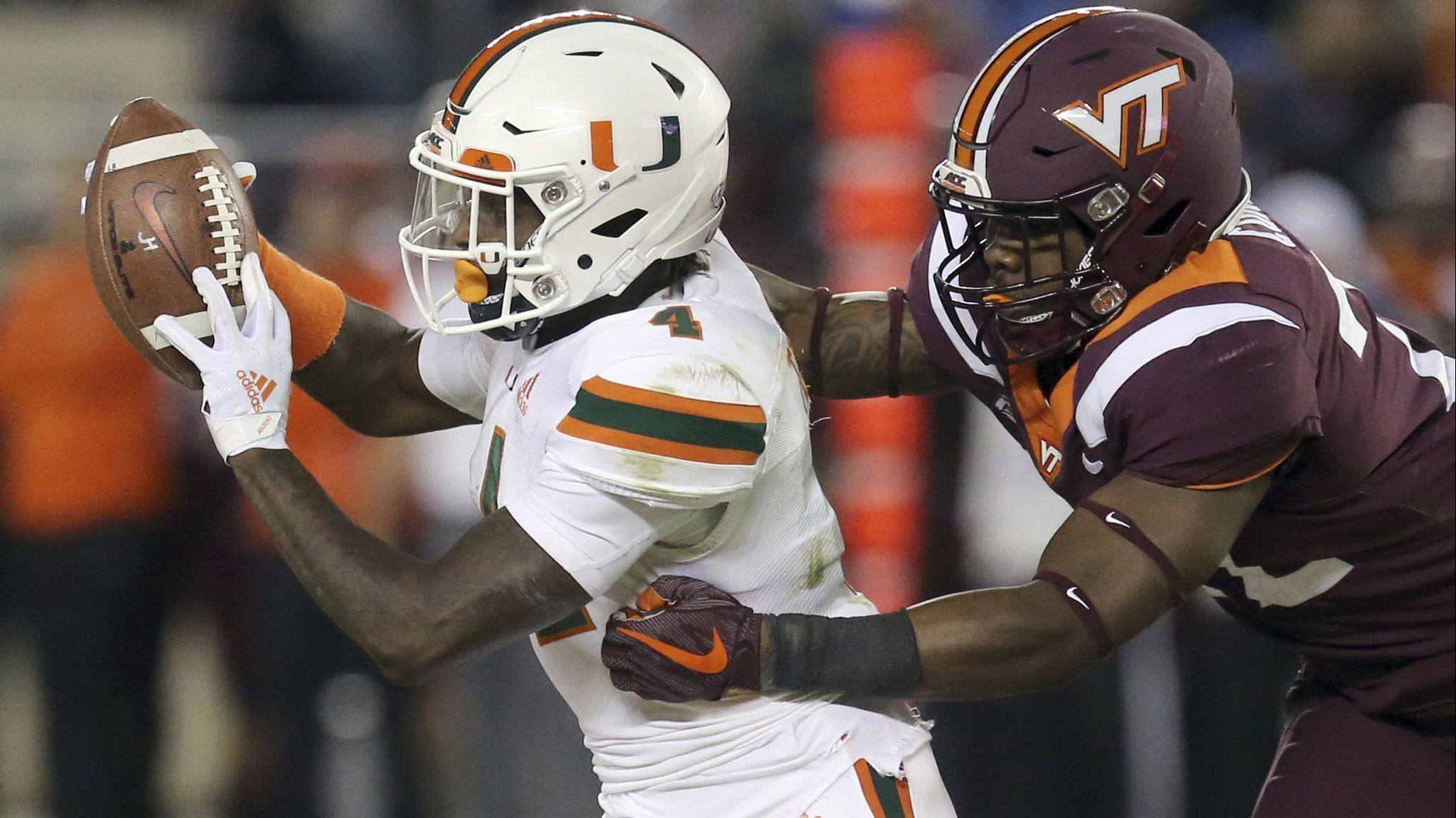 UM s Jeff Thomas saga continues with receiver saying he is returning to  Miami Sun Sentinel - 23 15 PM ET January 15 37599e668