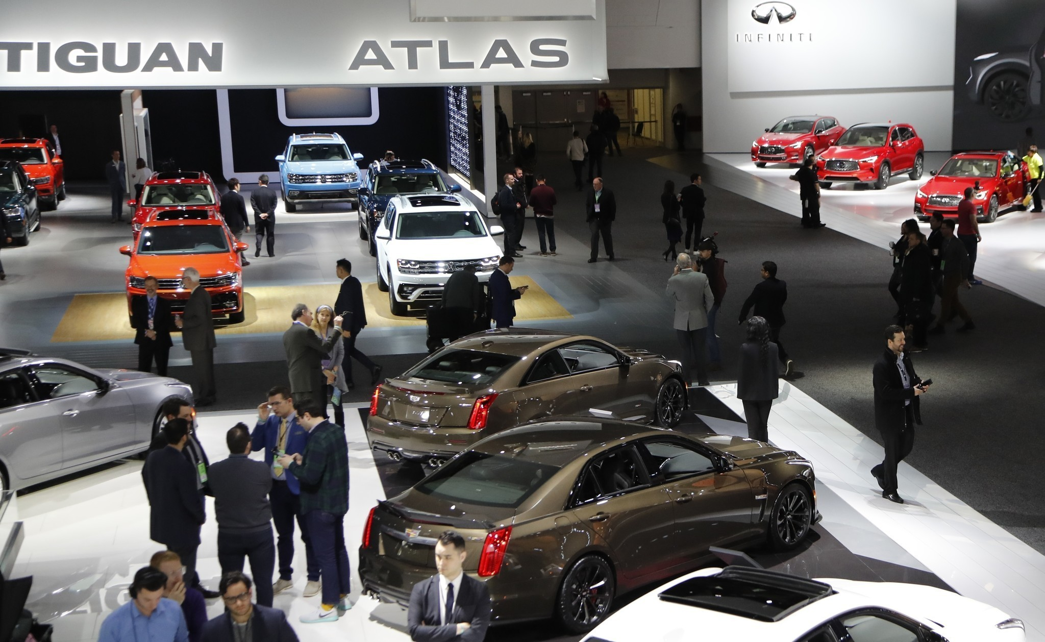 Auto Show No As Brands Pull Out Producers Ramp Up The Experience