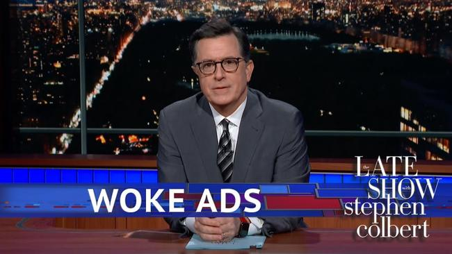 Stephen Colbert takes issue with Gillette's 'woke' ad about