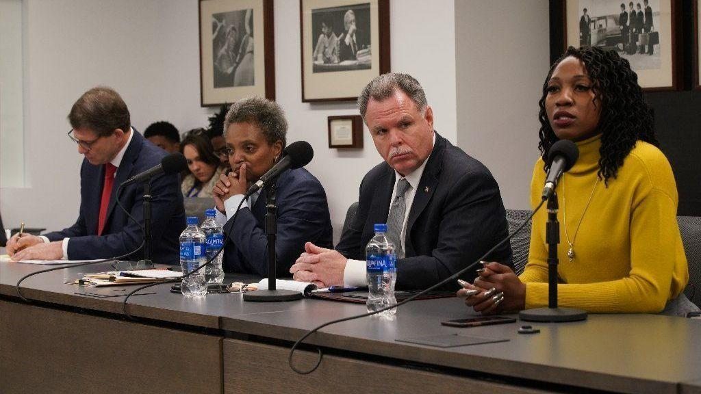 Four mayoral candidates react to 'code of silence' police verdict in Tribune editorial board meeting