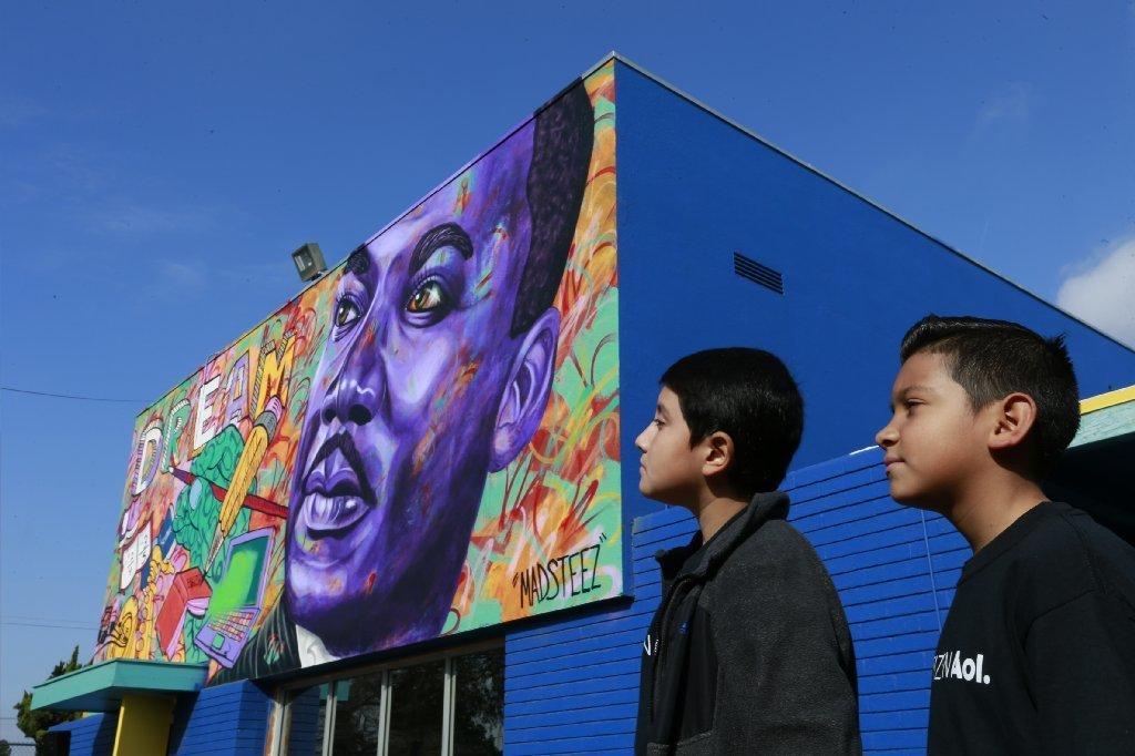 MLK murals