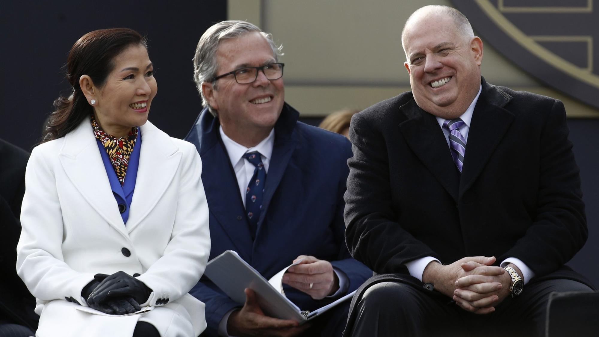 Washington think tank president wooing Maryland Gov. Hogan to run against Trump for president