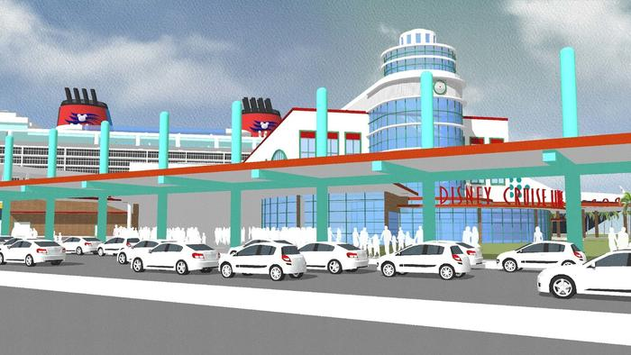 Pictures: Redesign of Disney Cruise Line terminal at Port Canaveral