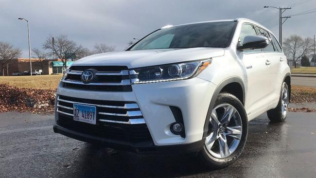 2019 Toyota Highlander Hybrid Limited In Awd