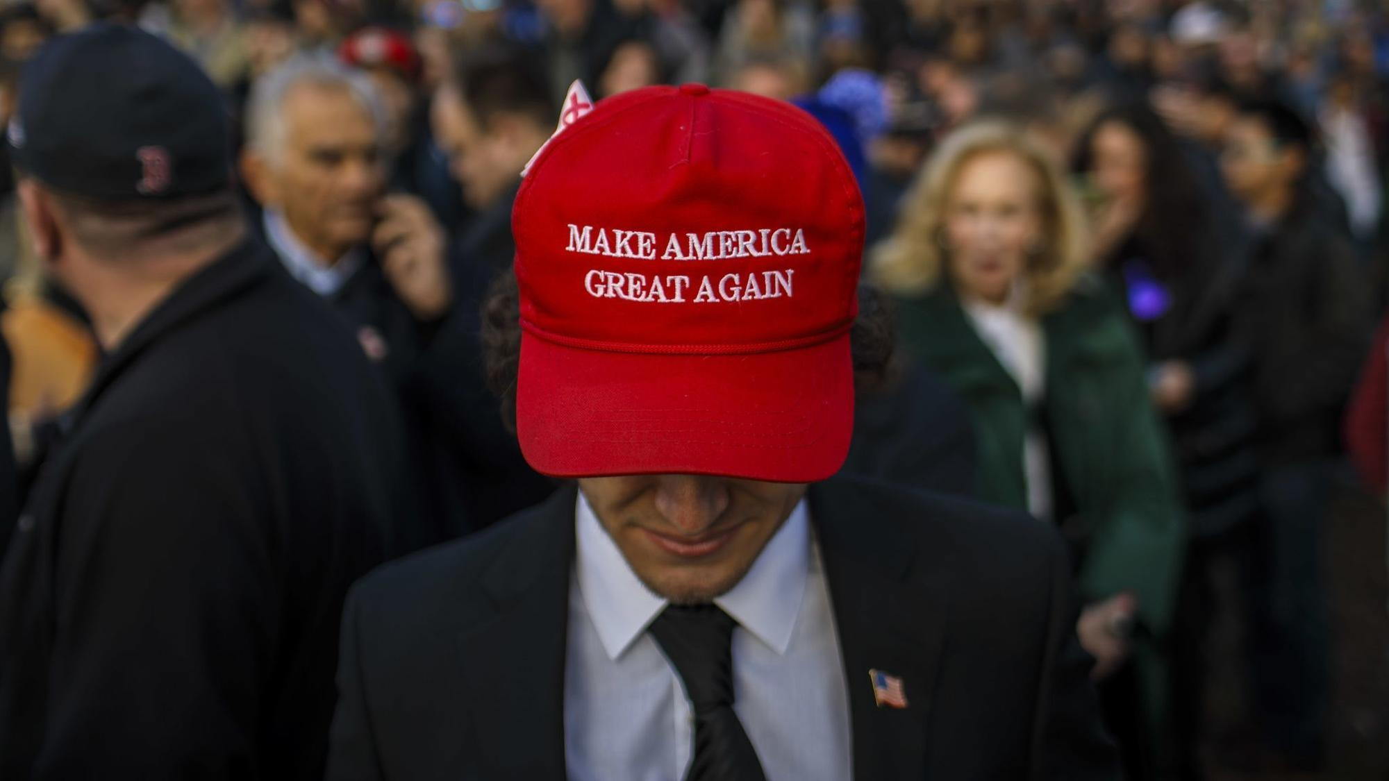 0314f422 The MAGA hat is not a statement of policy. It's an inflammatory declaration  of identity. - Chicago Tribune