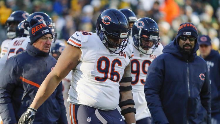 Bears defensive end Akiem Hicks