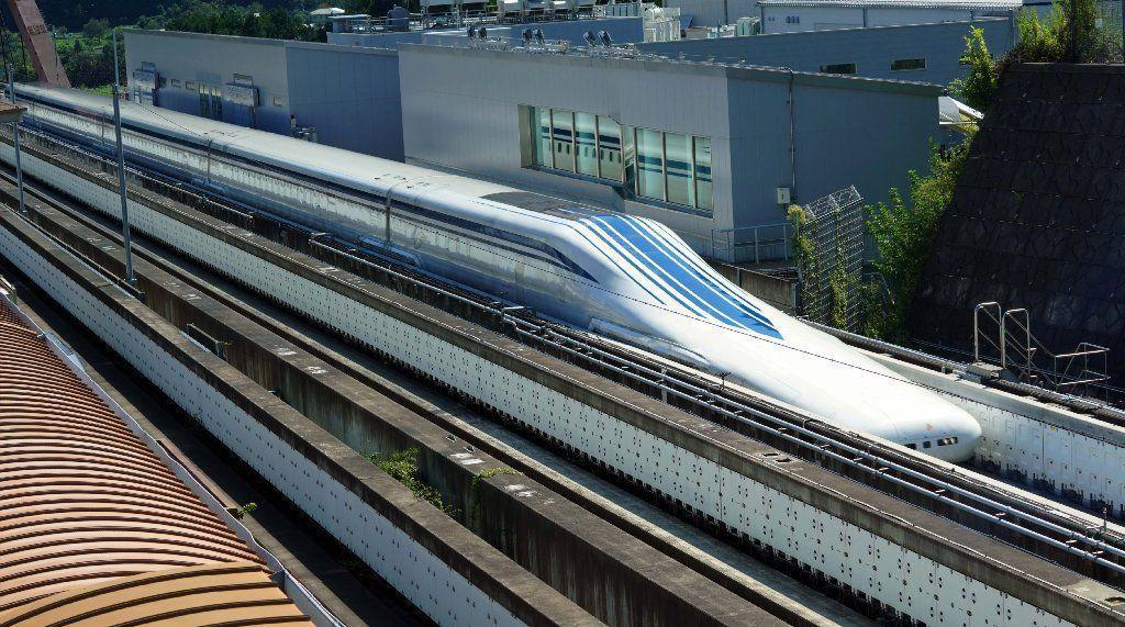 4a6e9b03 'It can be done': Futuristic Japanese maglev train could revolutionize  travel from DC to Baltimore, and beyond
