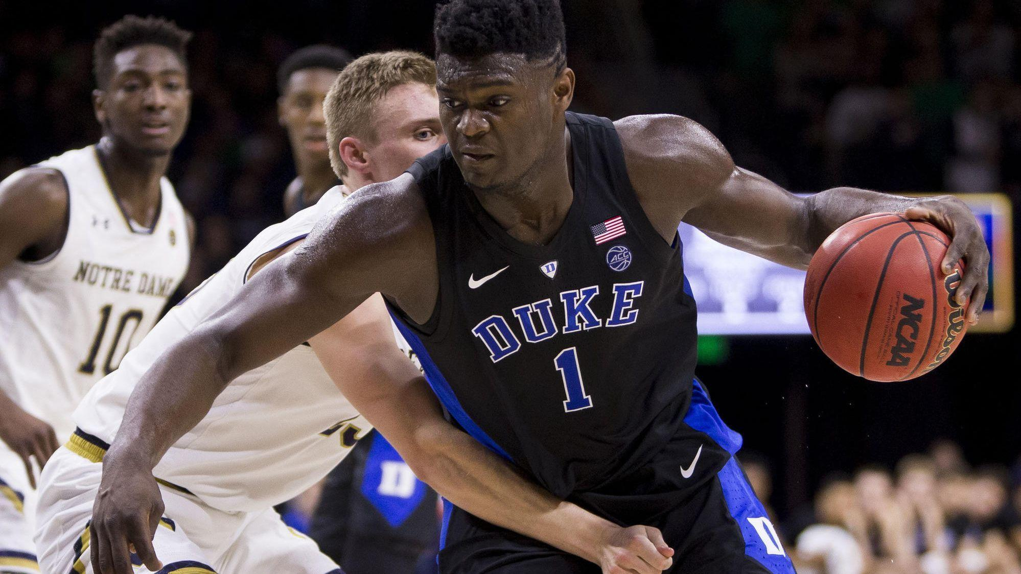 Zion Williamson Leaves An Impression On Notre Dame I Don T Know If 414e92b04