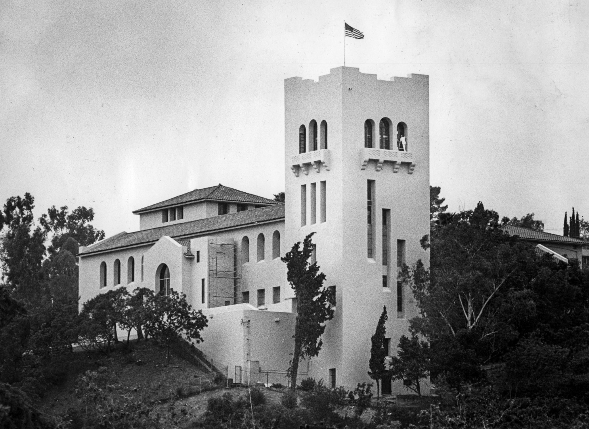 May 10, 1983: The Southwest Museum on a hill in Highland Park section of Los Angeles. This photo was