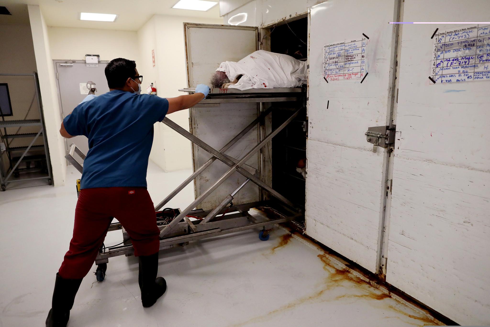 Tijuana morgue
