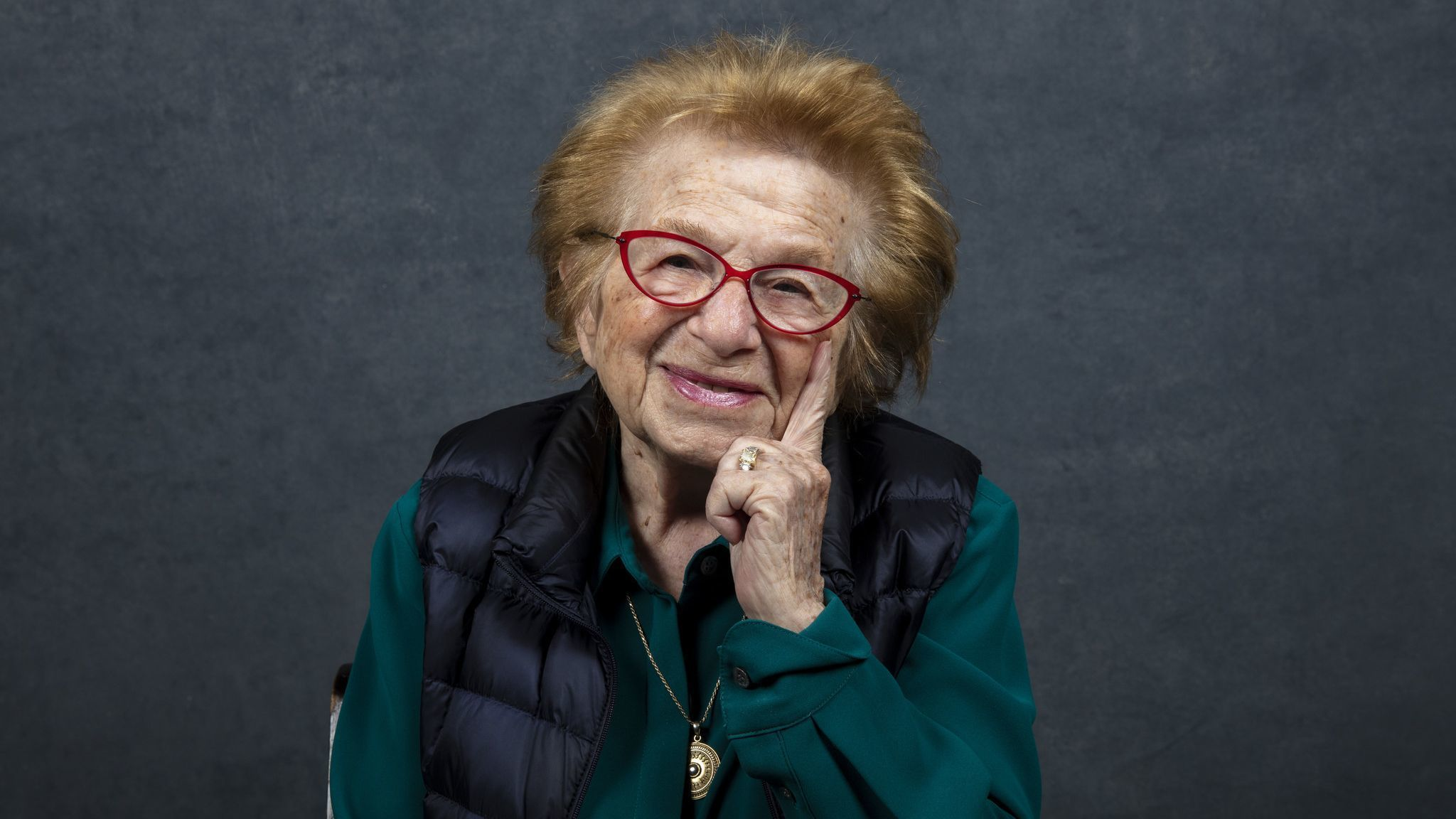 Ruth Westheimer from the documentary